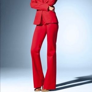 High Waisted Red Slacks/Dress Pants